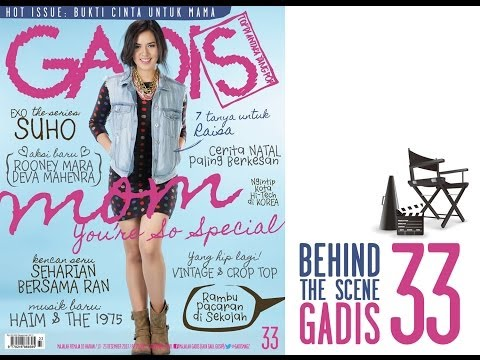 Behind The Scene - Raisa for GADISmagz 33/2013