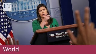 White House slams Turkey's tariffs on US imports - FINANCIALTIMESVIDEOS