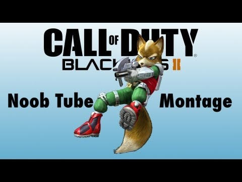 Black Ops 2 Noob Tube Montage 2 (Cross Maps/Rage Reactions/Direct Impacts)