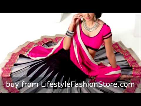 Latest Designer Lehenga Choli online at www.lifestylefashionsore.com