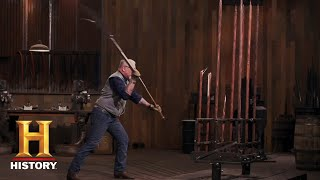 Forged in Fire: The Glaive Guisarme Tests (Season 5) | History - HISTORYCHANNEL