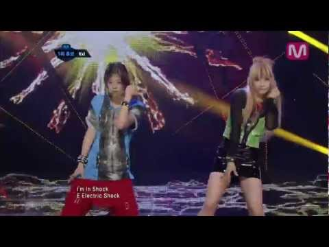 f(x)_Electric Shock(Electric Shock by f(x) @Mcountdown 2012.06.21)