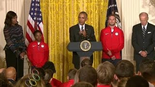 Obama: Team USA's diversity is what makes it great - CNN