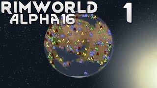 Прохождение RimWorld Alpha 16 EXTREME: #1 - ПЛЕМЯ В ДЖУНГЛЯХ!