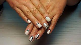 видео урок наращивание ногтей на русском языке