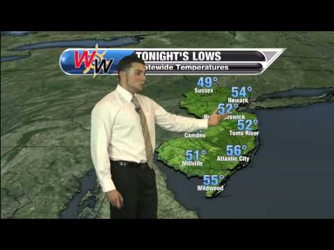 Tuesday, October 21st Evening Forecast