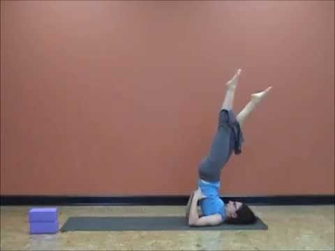 40 Days of Lent Yoga Challenge with Hope Zvara Day 24: Plow & Core-Shoulderstand