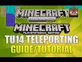 "Minecraft Xbox 360 & PS3: ""Title Update 14"" Teleporting Fully Explained Guide (TUTORIAL!)"