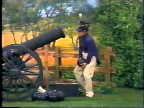 Tim Conway Harvey Korman &quot;Fire At Will&quot; (the cannonball sketch)