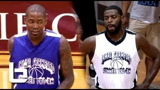 Jamal Crawford & Tyreke Evans Show Handles & Battle At Pro-Am Game
