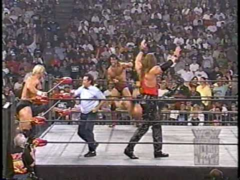 The Outsiders vs. Lex Luger & DDP [2of2] - WCW Monday Nitro 8/18/97 (HQ)