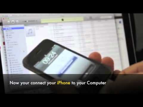 Unlock At&t iPhone - How to Factory Unlock any At&t iPhone 5, 4S,4,3Gs for other GSM networks