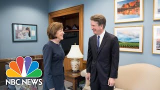 Senator Susan Collins Says Brett Kavanaugh Sees Roe v. Wade As 'Settled Law' | NBC News - NBCNEWS