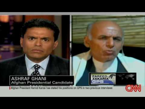 Dr. Ashraf Ghani's Ahmadzai on GPS with Fareed Zakaria