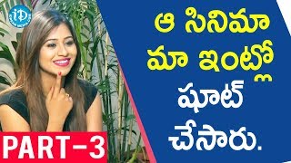 Ashish & Monali Exclusive Interview Part #3 || Talking Movies with iDream - IDREAMMOVIES