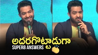 JR NTR Interacting With Media @ Celekt Mobiles Launch Press Meet | TFPC - TFPC