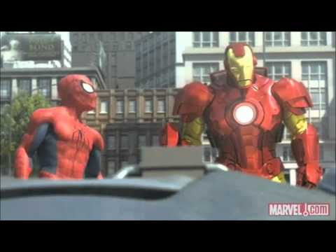 Spider Man Iron Man and the Hulk Full and HQ