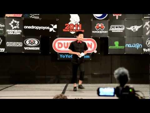 C3yoyodesign Present : World Yoyo Contest 2011 4A 1st Naoto Okada