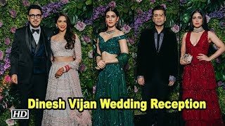 Kriti to Sonakshi: Stars glam up Dinesh Vijan Wedding Reception - BOLLYWOODCOUNTRY