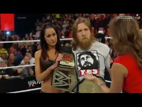 WWE Raw Review 4/21/14 Kane Kills Daniel Bryan Highlights
