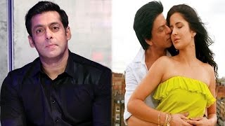 Salman Khan was upset with the makers of his reality show, Katrina Kaif to romance Shahrukh Khan