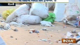 No ' Swachh Bharat' effect in Palika Bazar after Diwali celebration - INDIATV