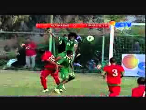 Timnas U 19 Indonesia vs Al - Shabab  2 - 218 April 2014