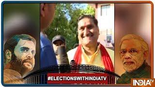 Aligarh MP Satish Gautam Promises To Bring Reservation In AMU If Voted This Time - INDIATV