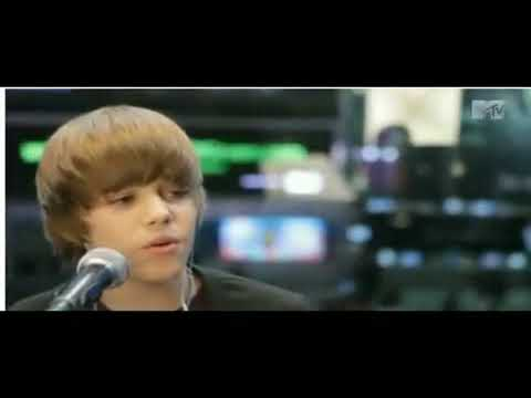 Justin Bieber Favorite Girl Piano Version Live MTV