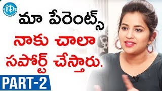 Actress Komali Exclusive Interview - Part #2 || Talking Movies With iDream - IDREAMMOVIES