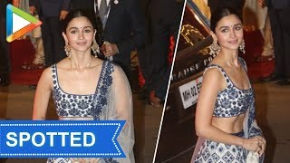 Ravishing Alia Bhatt at Isha Ambani - Anand Piramal Wedding - HUNGAMA