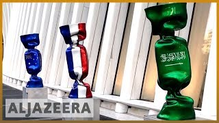 🇸🇦 🇺🇸 Artwork with Saudi flag removed from New York's Ground Zero l Al Jazeera English - ALJAZEERAENGLISH