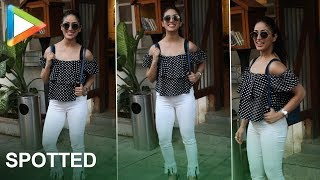 Yami Gautam Spotted At Restaurant In Juhu - HUNGAMA