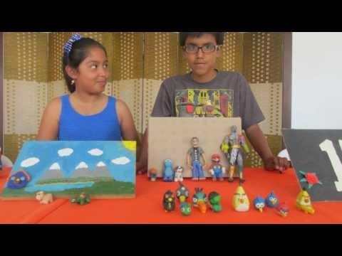 Taller educativo vacacional para niños de arte en plastilina