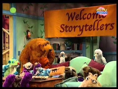 Niedźwiedź w dużym niebieskim domu - Opowiadanie historii