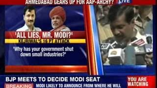 Arvind Kejriwal to hold rally in Narendra Modi's bastion - NEWSXLIVE