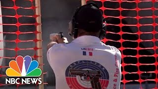 First Responders Go For Gold | NBC Nightly News - NBCNEWS