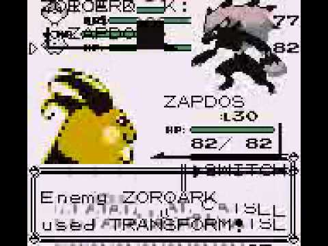 How to get a ZOROARK in Pokemon Red Blue 
