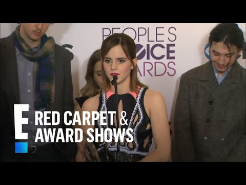 The cast of Perks of Being A Wallflower in the People's Choice Awards Press Room