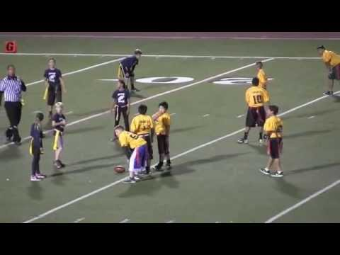 Tunnell Thunderbirds vs. Ralph Dunlap Dolphins Flag Football Super Bowl 2014