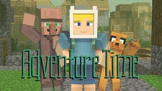 The Origin of Jake - Adventure Time (Minecraft Animation)
