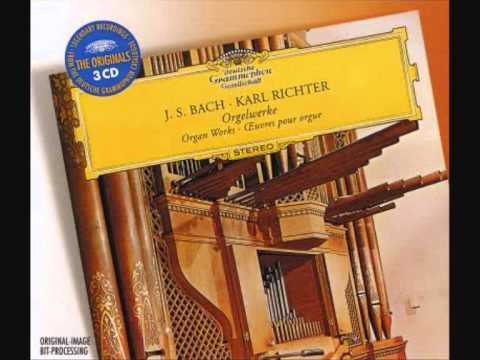 Karl Richter - Preludium Et Fugue IN LA (A) MINOR - BWV 543-Johann Sebastian Bach