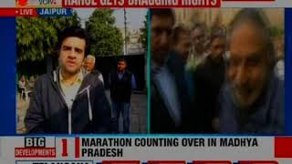Congress short of majority by 1 seat in Rajasthan, 2 in Madhya Pradesh - NEWSXLIVE