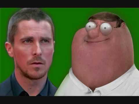 Christian Bale V Peter Griffin