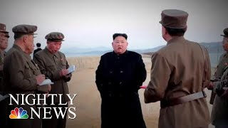 North Korea Claims It Has Tested New 'Ultramodern' Weapon | NBC Nightly News - NBCNEWS