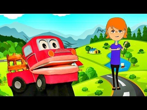 Cabeza, Tronco y Extremidades - Las Partes del Cuerpo  - Barney El Camion - Video para niños #
