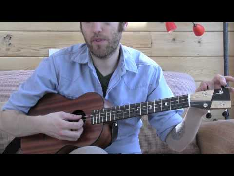 Four Different Ways to String/Tune Your Baritone Ukulele