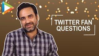 "Pankaj Tripathi: ""Mere inspiration Manoj Bajpayee hai"" | Twitter Fan Questions - HUNGAMA"