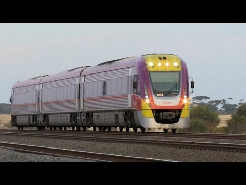 V/line Passenger Trains on the Geelong Line - Part 4 - Railroads and Trains in Australia