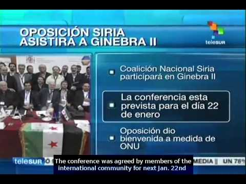 Syrian National Coalition confirms participation in peace talks